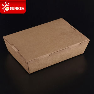 Custom Brand Printed Paper Burger Box pictures & photos