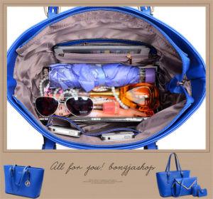 2016 European and American New Design 4PCS/Set Women Leather Shoulder Handbag pictures & photos