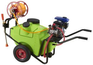 Trolley Gasoline Engine Power Sprayer, Diaphragm Pump Power Sprayer Tpm100/20f pictures & photos