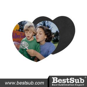 Bestsub Heart Shape Sublimation Fridge Magnet (P10) pictures & photos