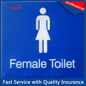 OEM/ODM Factory Directly Toilet Plastic Sign pictures & photos