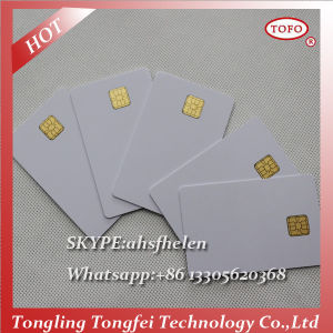 Inkjet PVC 5528 Chip Card Blank SIM Card for Canon/Epson pictures & photos