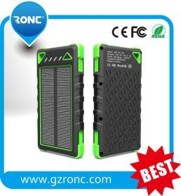 2016 New Design 10000mAh Big Capacity Solar Power Bank pictures & photos