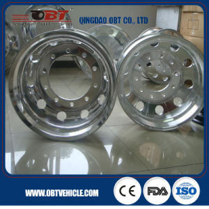 24.5 Forged Aluminum Alloy Wheels for Truck Trailer pictures & photos