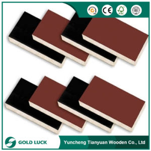 13, 15, 18mm Marine Poplar Core Shuttering Film Coated Plywood pictures & photos