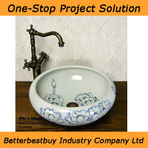 Chinese Fashion Basin for Counter Top pictures & photos