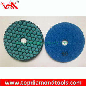 Diamond Dry Flexible Polishing Pads for Granite and Marble Corner Polishing pictures & photos