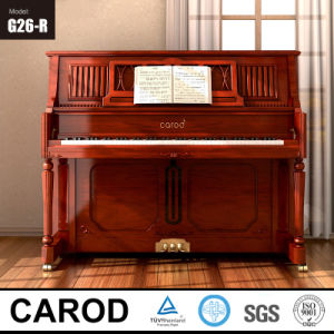 Walnut 126cm Upright Piano Musical Instrument pictures & photos