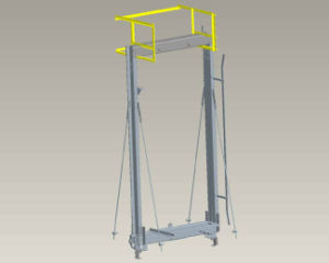 Elevator Parts: Elevator Car Platform, Passenger Elevator, Panoramic Elevator pictures & photos