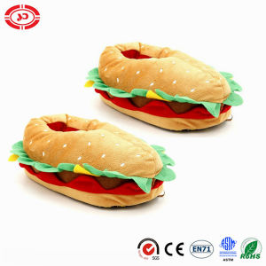 Hamburge New Type Best Kids Fashion Plush Soft Stuffed Slippers pictures & photos