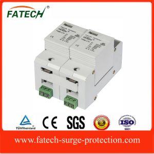 60KA Solar SPD Type 1+2 Surge Protector pictures & photos