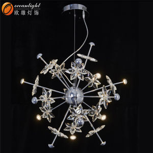 Chandelier Crystals, Crystal Parts for Chandelier, Low Ceiling Chandelier Om66130-4+8+4 pictures & photos