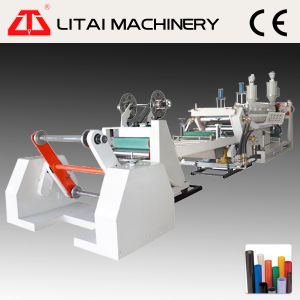 Two Layer Double Station Plastic PP Sheet Extruder pictures & photos