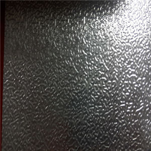 Orange Peel Pattern Embossed Aluminum Sheet for Refrigerator pictures & photos