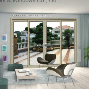 Aluminium Sliding Window Push-Pull Smooth with Hollow Toughened Glass (FT-W85) pictures & photos