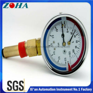 Combined Pressure and Temperature Gauge pictures & photos