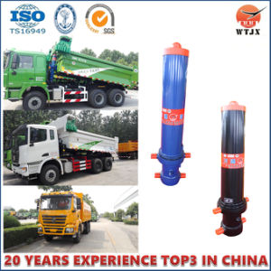 Cmic Telescopic Hydraulic Cylinder for Trailer pictures & photos