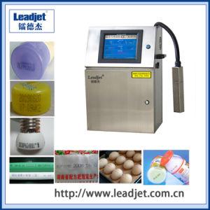 Leadjet V98 Continous Cij Inkjet Expiry Date Printing Machine pictures & photos