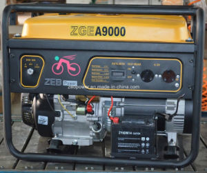 8kw Single Phase Portable Gasoline Generators (ZGEA9000 and ZGEB9000) pictures & photos