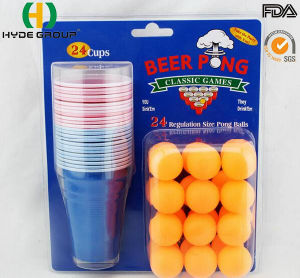 Hot Sale Disposable Beer Pong Solo Cup with Package (HDP-0266) pictures & photos