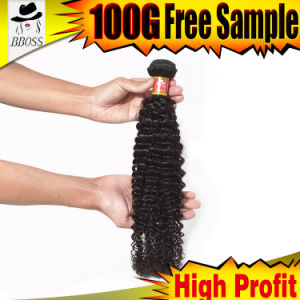 Natural Hair Weft Unprocessed of 9A Brazilian Hair pictures & photos
