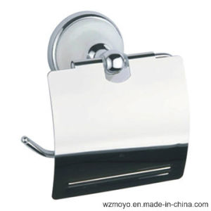 Zinc Alloy Toilet Paper Holder in Chrome Finish for Household pictures & photos