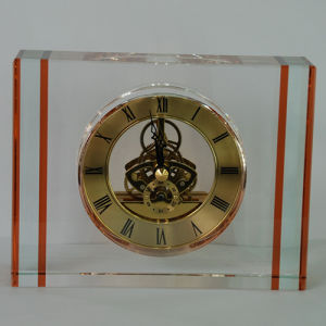 Amber Crystal Classic Big Watch Clock for Home Decoartion pictures & photos