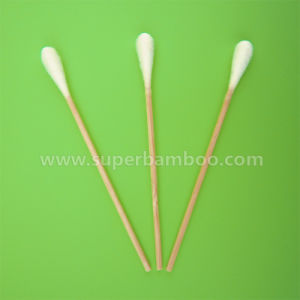 4′ Bamboo Stick Cotton Swab for Medical/Industry Use (B251007)