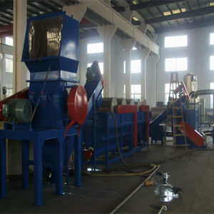 Waste Plastic Recycling Line PE Film Washing Production Line (300kg/h) pictures & photos