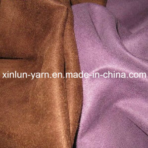 Hot Sale Micro Velboa Chelsea Boots Shoes Materials Fabric pictures & photos