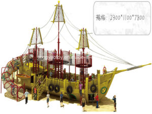 Wooden Pirate Boat Outdoor Playground pictures & photos