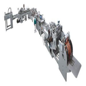 Sheet Feeding Cardboard Pasting Hole Punching Type Paper Handbag Machine pictures & photos