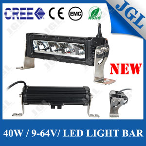 Jgl 10W LED Chip CREE LED Light Bar 9-64V 40W