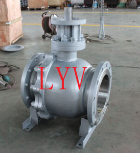 API 150lb Cast Steel Floating Ball Valve with ISO9001 pictures & photos