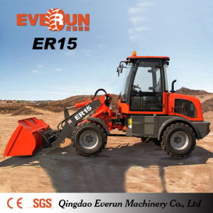1.5ton Articulated Farm Machine Everun Er15 Small Shovel Loader pictures & photos