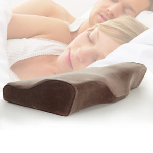 Wholesale Butterfly Cervical Memory Neck Massage Support Pillow pictures & photos