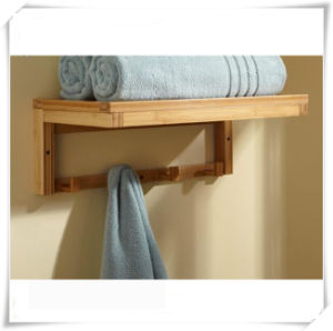 High Quality Bathroom Bamboo Towel Rail pictures & photos