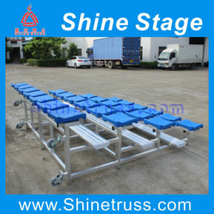 Rugby Football Aluminum Bleacher Seat with Wheels (YN-) pictures & photos