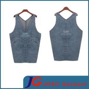 Fashion Jeans Long Vest Style Denim Skirts (JC2116) pictures & photos