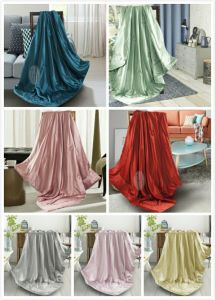 Taihu Snow Silk Oeko-Tex 100 Bed Linen Summer Silk Throw Blanket pictures & photos