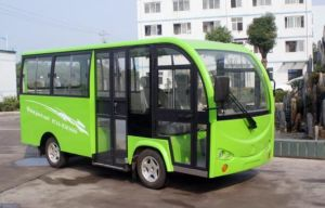 2015 Big Power 13-Seats Electric City Bus with Doors for Sale pictures & photos