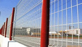 PVC Coated Security Welded Wire Mesh Fence for Garden pictures & photos
