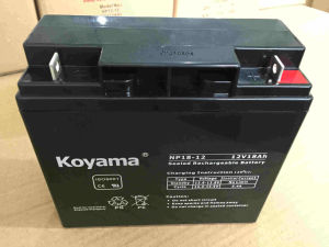 12V 18ah Lead Acid AGM Battery for Utility Vehicle pictures & photos