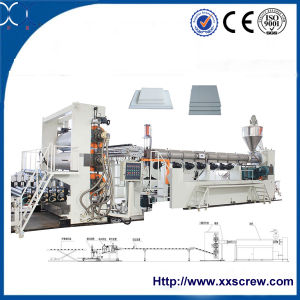 Wood Plastic Board Extrusion Line pictures & photos