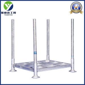 Post Heavy Duty Hot Galvanized Warehouse Pallet Rack/Steel Pallets/Stillages pictures & photos