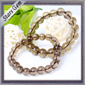 High Quality Transparent Smoky Quartzs Bracelet Jewelry pictures & photos