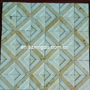 Mixed Color Antique Style Wall Mosaic for Building Material