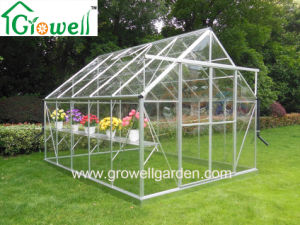 Solid Polycarbonate Clear Greenhouse Double Sliding Door (E810) pictures & photos