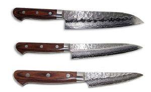 Professional China Factory Damascus Kitchen Knife