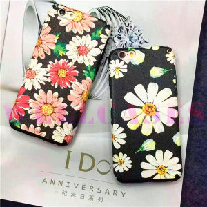 New Painting Daisy Flower Phone Case for iPhone 6/6plus